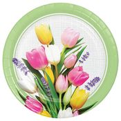 Spring Bouquet Dinner Plates 96 ct