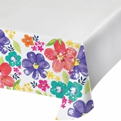 Spring Floral Paper Tablecloths 12 ct