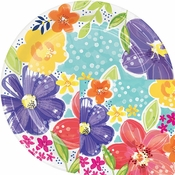 Spring Floral Party Supplies