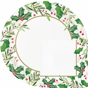Traditional Holly Party Supplies