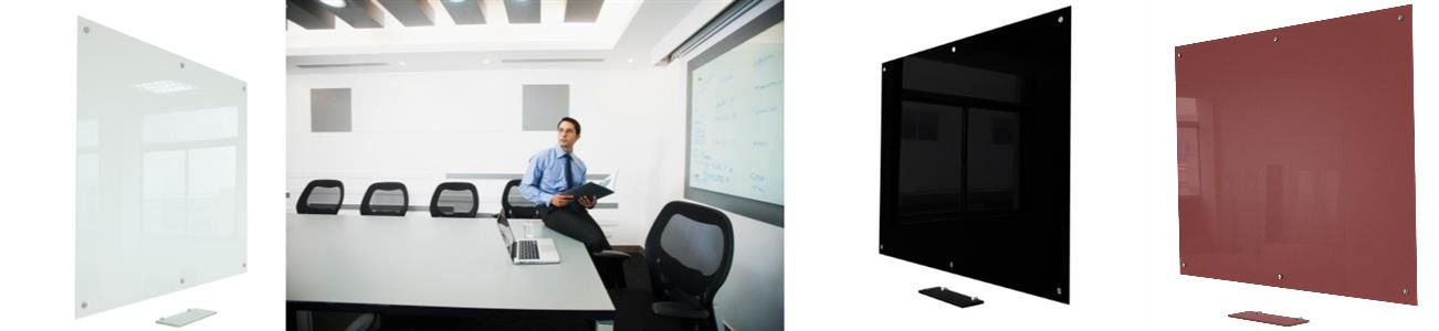 Magnetic Tempered Glass Whiteboards - Glass Blackboards