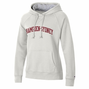 Ladies Arched Hampden-Sydney Hooded Sweatshirt