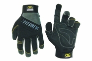 CLC Custom Leathercraft 205B Black Pit Crew / Engine Crew Gloves