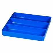 Ernst 5022 3 Compartment Toolbox Tray Organizer - Blue