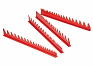 Ernst 6014 40 Tool Wrench Organizer Rail Set - Red