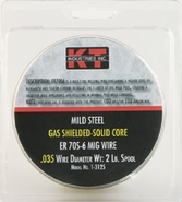 K-T Industries 1-3125 ER70S-6 Gas Shielded Solid Core MIG Wire, .035 -2 Lb Spool