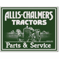 Allis Chalmers - P&S Tin Signs