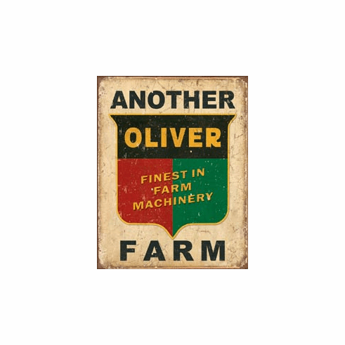 Another Oliver Farm Tin Signs
