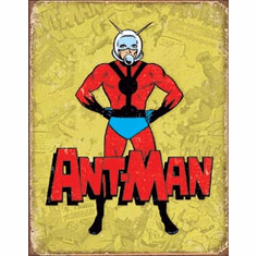 Ant-Man Retro Tin Signs