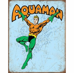 Aquaman Retro Tin Signs
