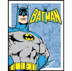 Batman - Retro Panels Tin Sign