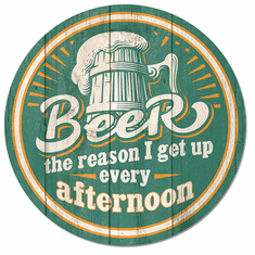 Beer - Afternoon Wakeup Tin Signs