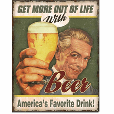 Beer - America's Favorite Tin Signs