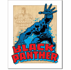 Black Panther Retro Tin Signs