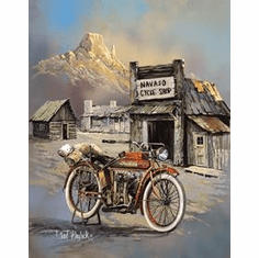 Blaylock - APACHE HIGH SPEED Tin Sign
