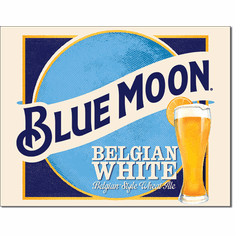 Blue Moon Belgian Wheat Tin Signs