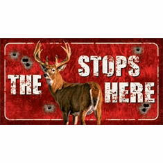 Buck Stops Here Tin Signs