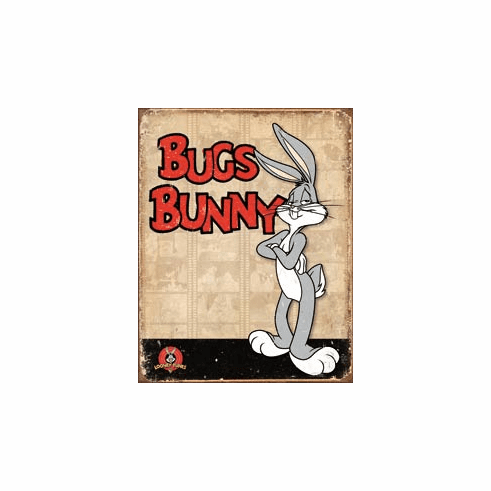 Bugs Bunny Retro Panels Tin Signs