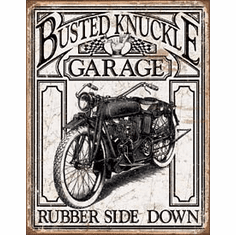Busted Knuckle Vintage Tin Signs