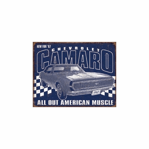Camaro - 1967 Muscle Tin Signs
