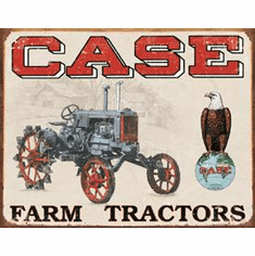 Case Tractor - CC High Tin Sign