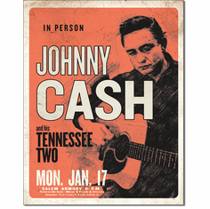 CASH & His Tennessee Two Tin Signs