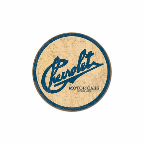 Chevy Historic Logo Tin Signs
