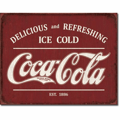 COKE - Est 1886 Tin Signs