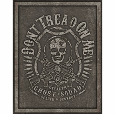 DTOM - Ghost Squad Tin Signs