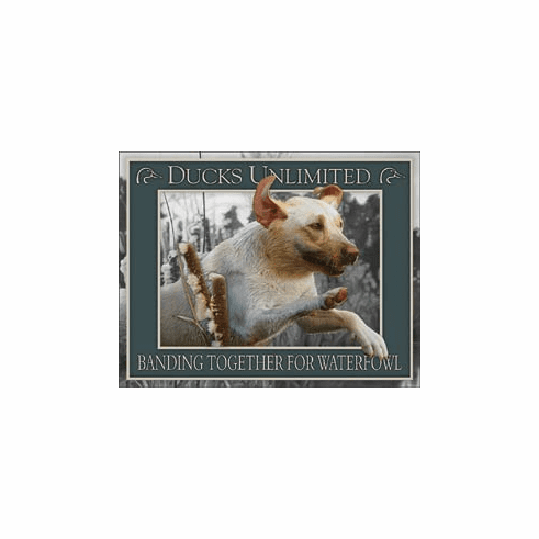 Ducks Unlimited - Banding Together Tin Signs