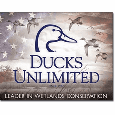 Ducks Unlimited - Flag  Tin Signs