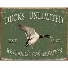 Ducks Unlimited - Since 1937 Tin Sign