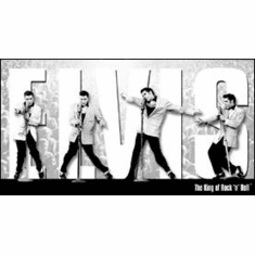 Elvis - King Montage Tin Sign
