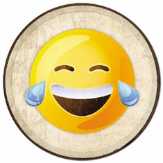 Emoji - Laughing Tin Signs