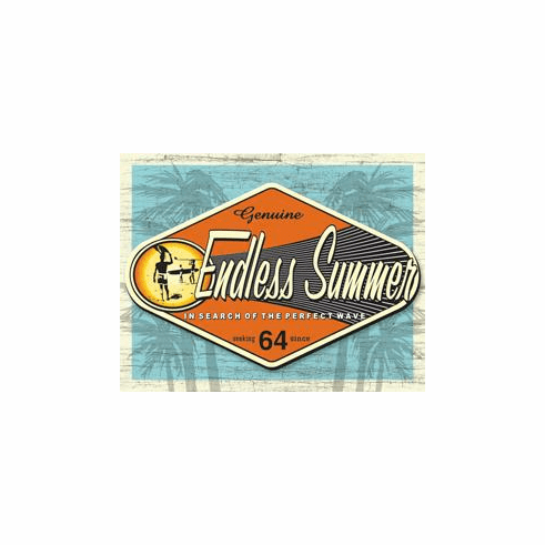 Endless Summer - Genuine Tin Sign