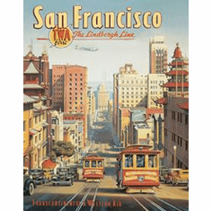 Erickson - San Francisco Tin Sign