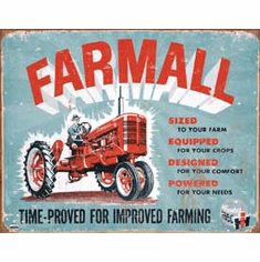 Farmall - Model A Tin Sign