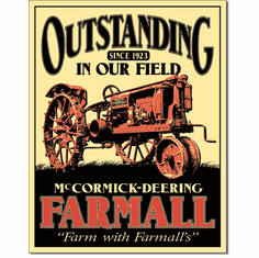 Farmall - Outstanding Tin Signs