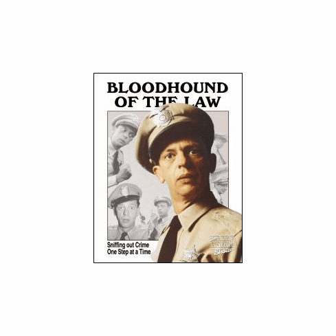 FIFE - BLOODHOUND OF THE LAWTin Sign