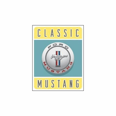 Ford- Classic Mustang Tin Signs