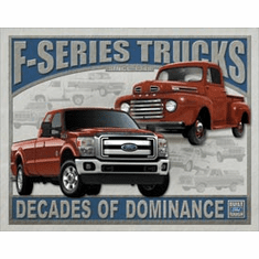 Ford F-Series Trucks Tin Signs