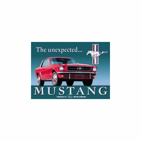 Ford Mustang Tin Signs