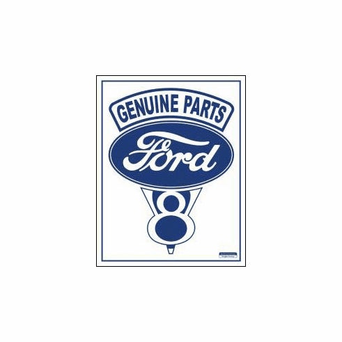 Ford V-8 Tin Signs