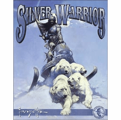 Frazetta - Silver Warrior Tin Signs