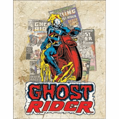 Ghost Rider - Cover Splash Tin Signs