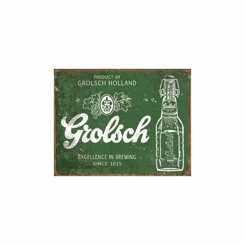 Grolsch Beer - Excellence Tin Signs