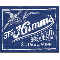 Hamm's Brewing Tin Signs