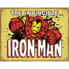 Iron Man - Invincible Tin Signs