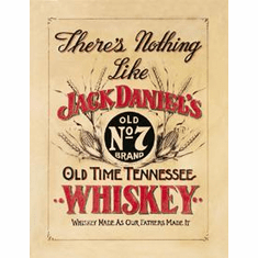 Jack Daniel's - Nothing Like Tin Sign