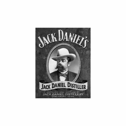 Jack Daniel's - Portrait Tin Sign